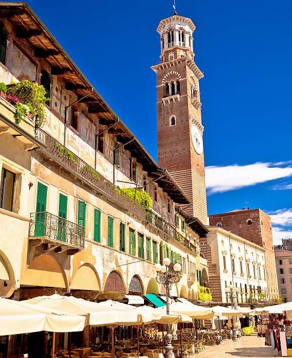Visitare Verona - Torre dei Lamberti